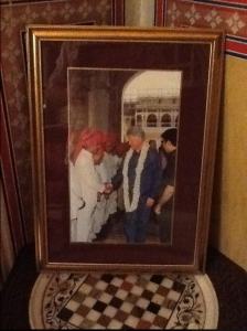 Naila Bagh Palace, Bill Clinton
