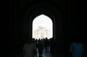 Taj doorway